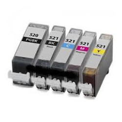 Nero 10ml con chip per Canon Ip3600/IP4600/MP540/MP620/630